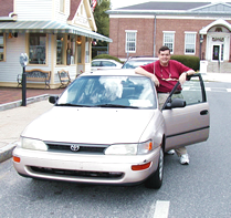 Mike Humphrey, with my car