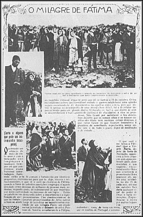 Secular Newspaper account of the events of Fatima