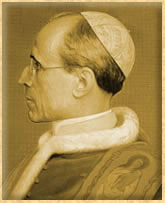 Biography of Pope Pius XII